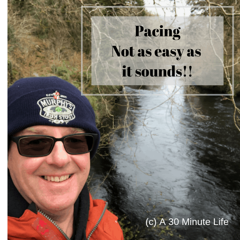 Pacing Not as easy as it sounds!!